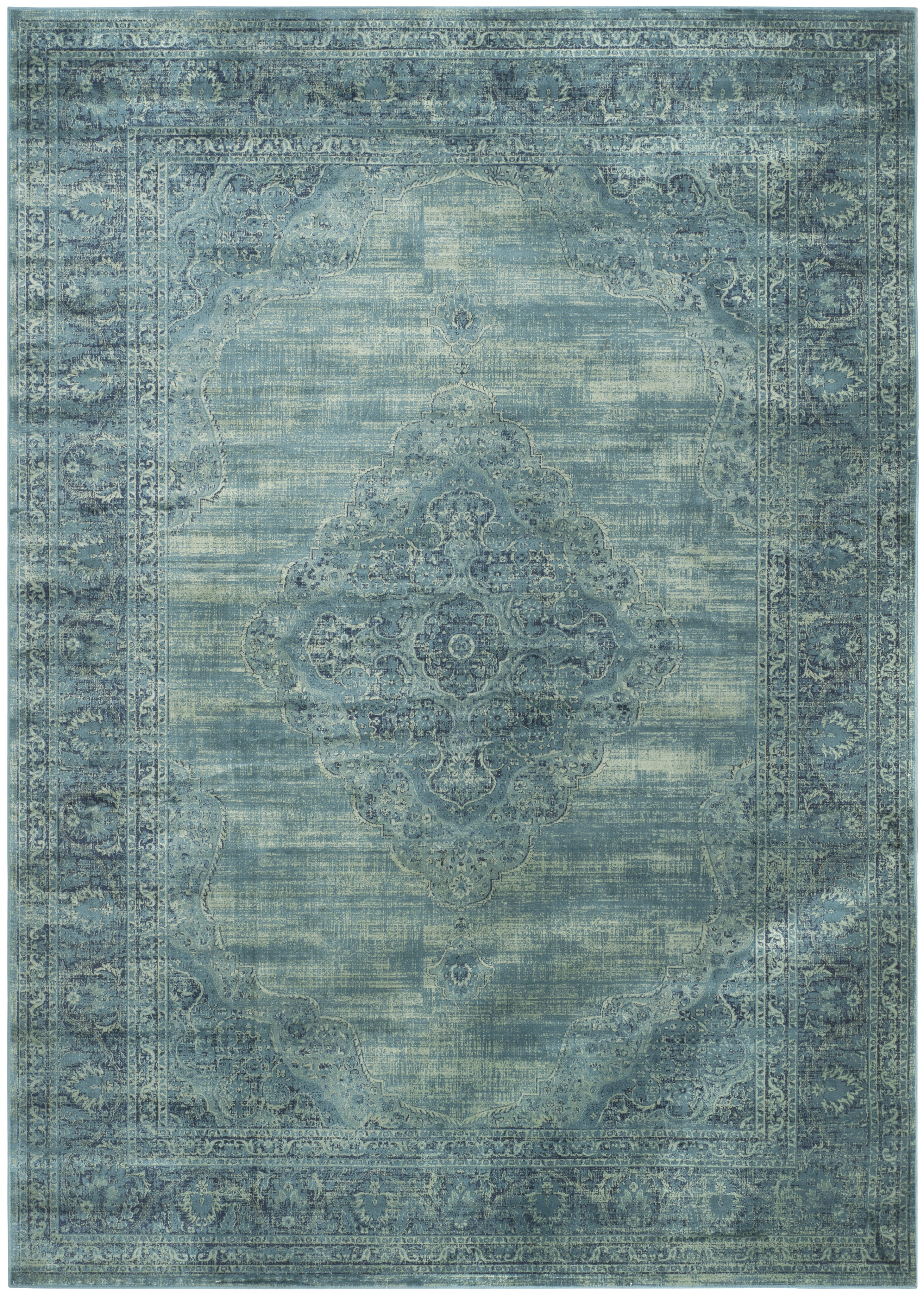 Makenna Turquoise Blue Area Rug Reviews Allmodern