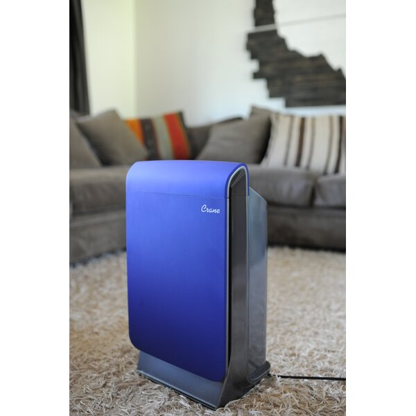 Smart Room HEPA Air Purifier by Crane USA