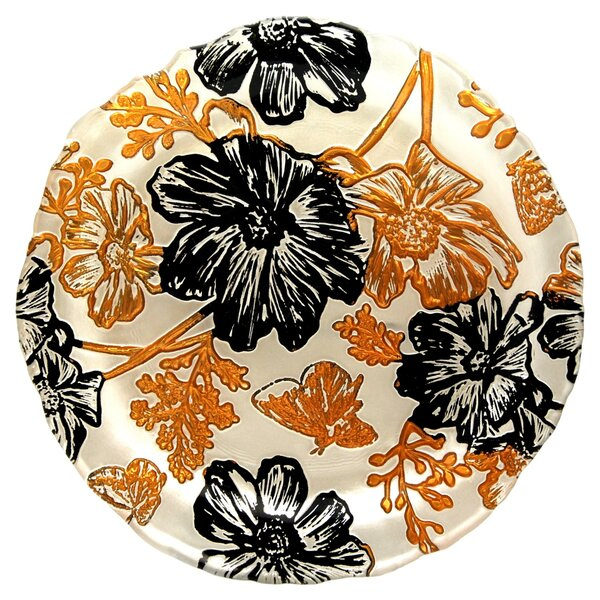 Papillon 8.5 Appetizer Plate by Red Pomegranate