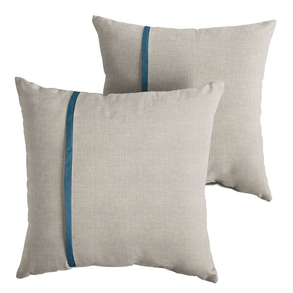 Annabella Indoor/Outdoor Throw Pillow (Set of 2) by Longshore Tides