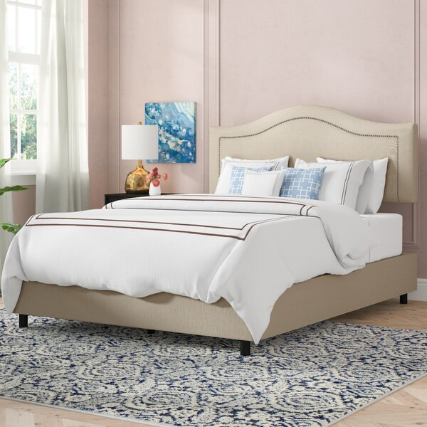 Alcinous Upholstered Standard Bed by Willa Arlo Interiors