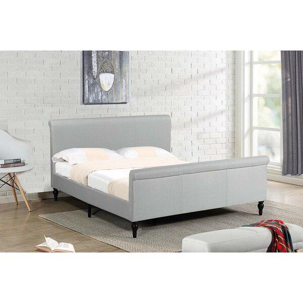 Schermerhorn Sleigh style platform bed by Canora Grey