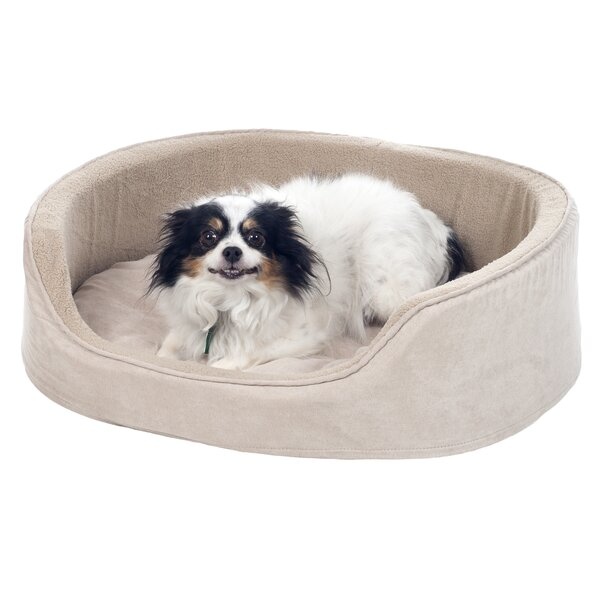 Cuddle Round Suede Terry Nest Bolster by PAW