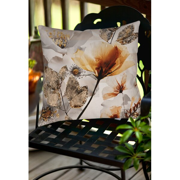 Happy Days Indoor/Outdoor Throw Pillow by Manual Woodworkers & Weavers