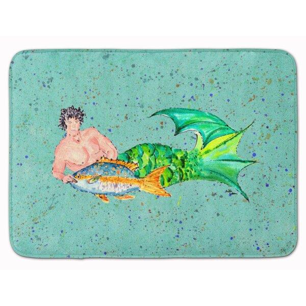 Merman Memory Foam Bath Rug