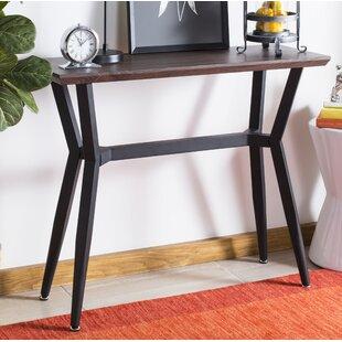 Ricarda Rectangular Wood Top Console Table ByIvy Bronx