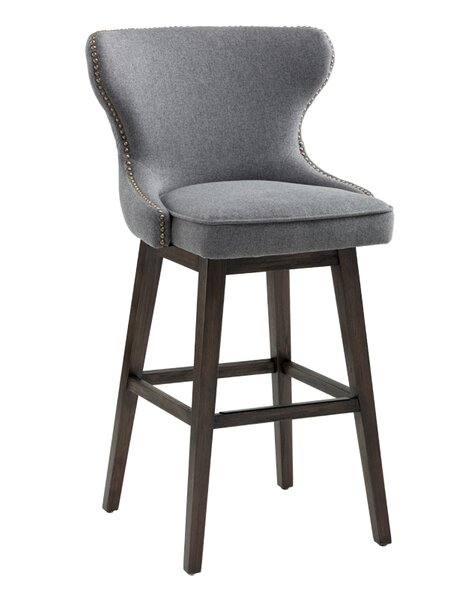 Ariana Swivel Bar Stool by Sunpan Modern