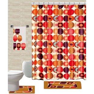 18 Piece Shower Curtain Set ByDaniels Bath