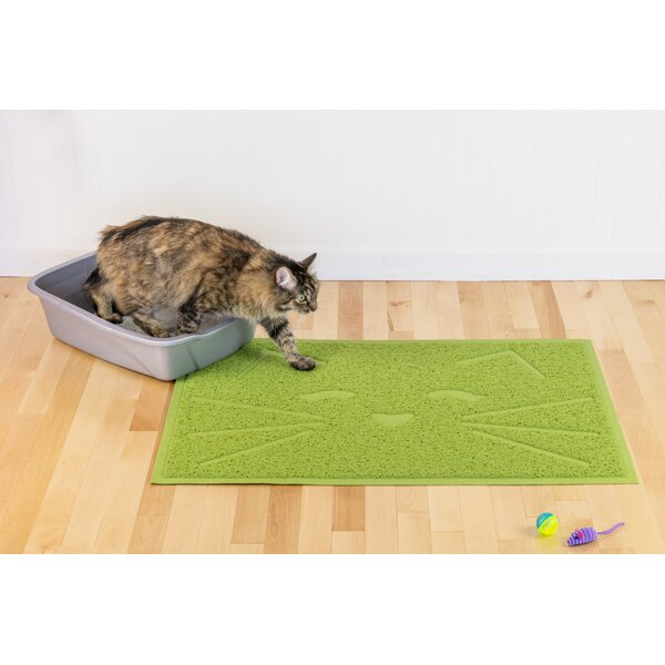Arteaga Tidy Paw Litter and Food Mat by Tucker Murphy Pet