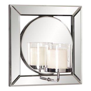 Red Barrel Studio Square Resin Accent Mirror