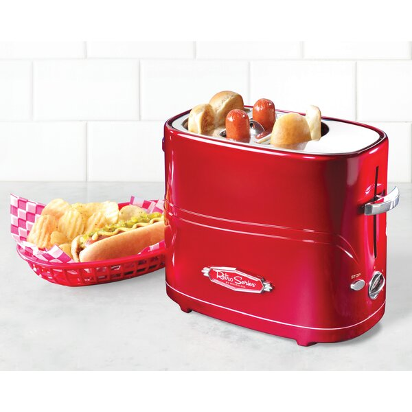 Retro Series Pop-Up Hot Dog Toaster by Nostalgia