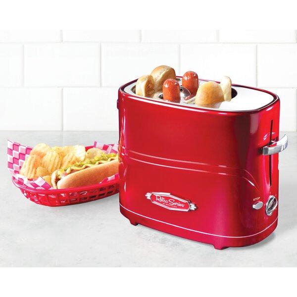 Retro Series Pop-Up Hot Dog Toaster by Nostalgia