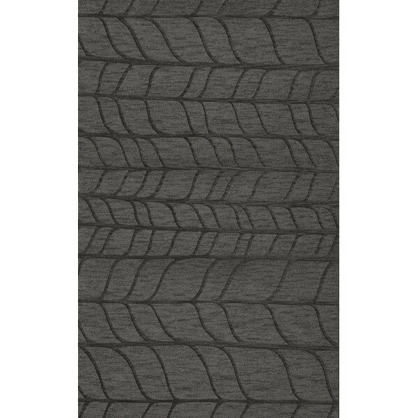 Bella Machine Woven Wool Gray Area Rug by Dalyn Rug Co.