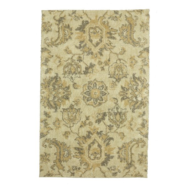 Dumbarton Beige Area Rug by Alcott Hill