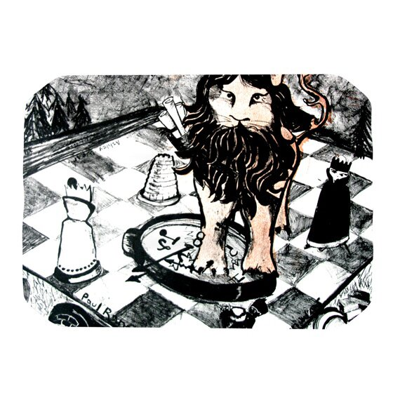 King Leo Placemat by KESS InHouse