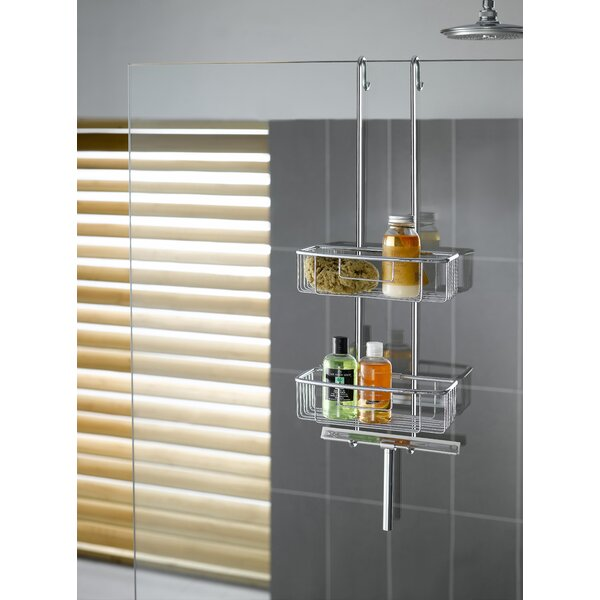Hanging Shower Caddy by Rebrilliant