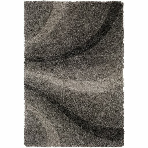 Annie Hand-Tufted Black/Ivory Area Rug by Orren Ellis