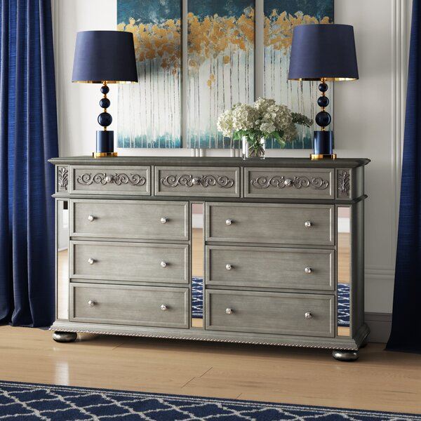 Mcdermott 9 Drawer Dresser By House Of Hampton by House of Hampton Coupon