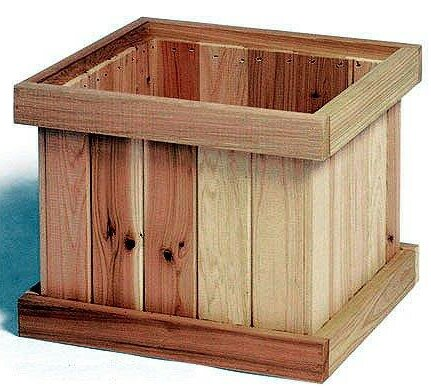 Cedar Planter Box by Cedar Creek Woodshop