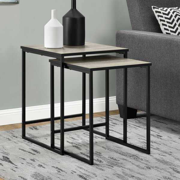 Caddell 2 Piece Nesting Tables by Mercury Row