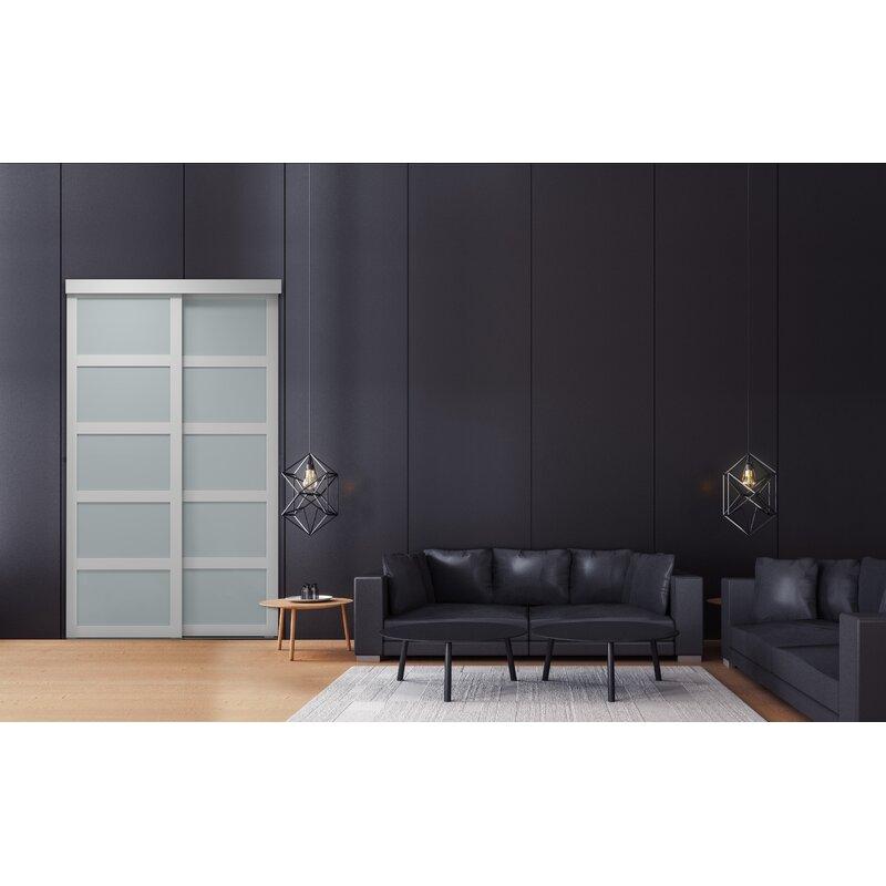 Colonial Elegance Indoor Studio Paneled Wood And Pvc Vinyl Sliding