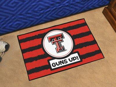 NCAA Texas Tech Southern 30 in. x 19 in. Non-Slip Indoor Only Door Mat