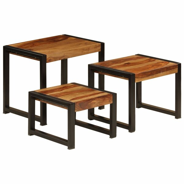 Truitt Trestle Nesting Tables By Union Rustic