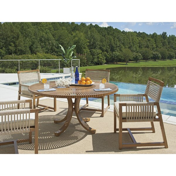 St Tropez 5 Piece Dining Set with Cushions