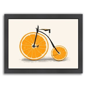 Vitamin Framed Graphic Art by East Urban Home