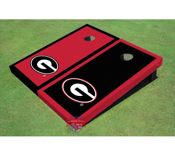 NCAA Border Cornhole Board (Set of 2) by All American Tailgate