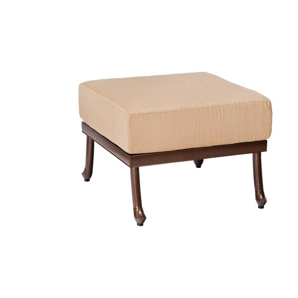 Casa Ottoman with Cushion by Woodard