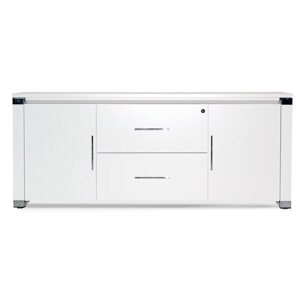 Pure Office 2 Door Credenza by Haaken Furniture
