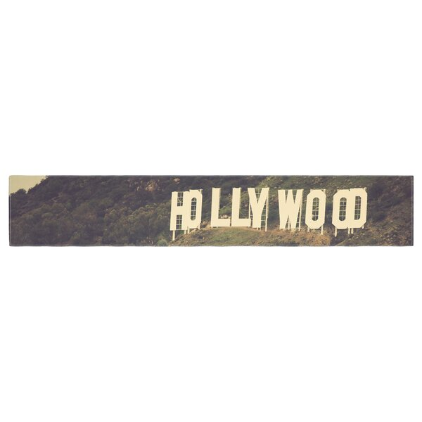 Catherine McDonald Hollywood Table Runner by East Urban Home