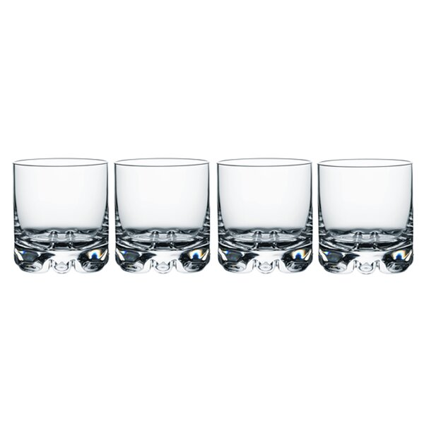Erik Old Fashioned 12 oz. Crystal Cocktail Glass (Set of 4) by Orrefors