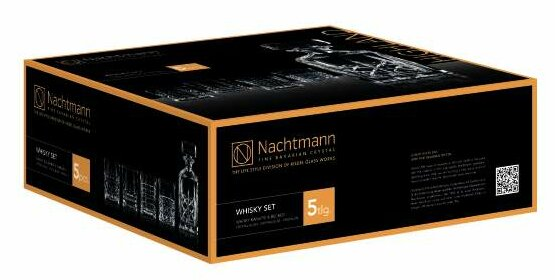 Highland 5 Piece Decanter Set by Nachtmann