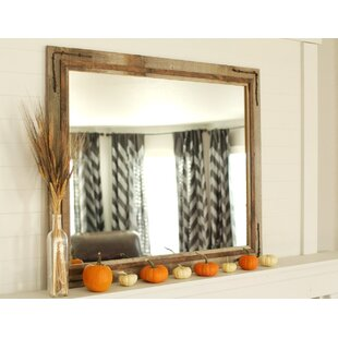 Millwood Pines Folkes Rustic Accent Mirror