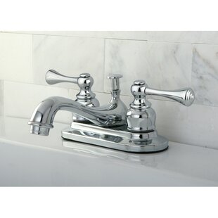 Find a English Vintage Centerset Bathroom Sink Faucet with ABS Pop-Up Drain ByKingston Brass