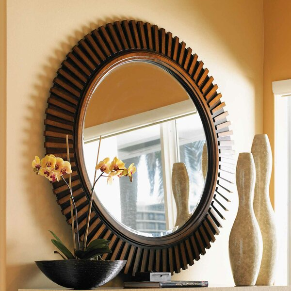 Ocean Club Reflection Round Dresser Mirror by Tommy Bahama Home