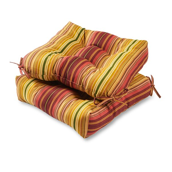 Pohl Indoor/Outdoor Dining Chair Cushion (Set of 2) by Andover Mills