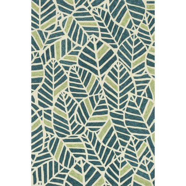 loloi rugs tropez handhooked bluegreen area rug u0026 reviews wayfair