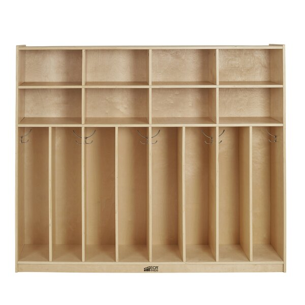 4 Section Coat Locker by ECR4kids