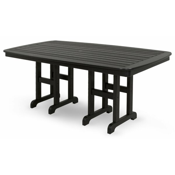 Yacht Club Plastic Dining Table by Trex Outdoor Trex Outdoor