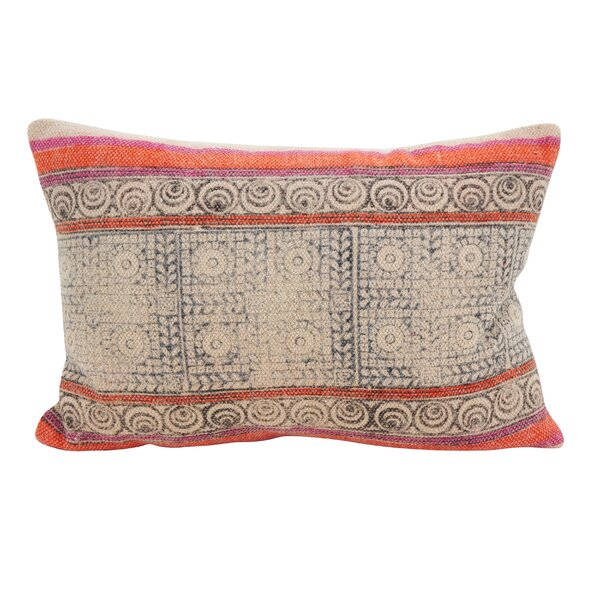 Rupert Twist Accent Down Filled Lumbar Pillow by Bungalow Rose