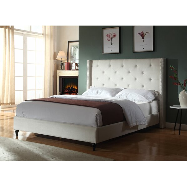 Priestley Upholstered Platform Bed by Winston Porter Winston Porter