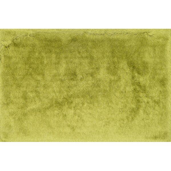 Hersi Hand-Tufted Citron Area Rug by Latitude Run