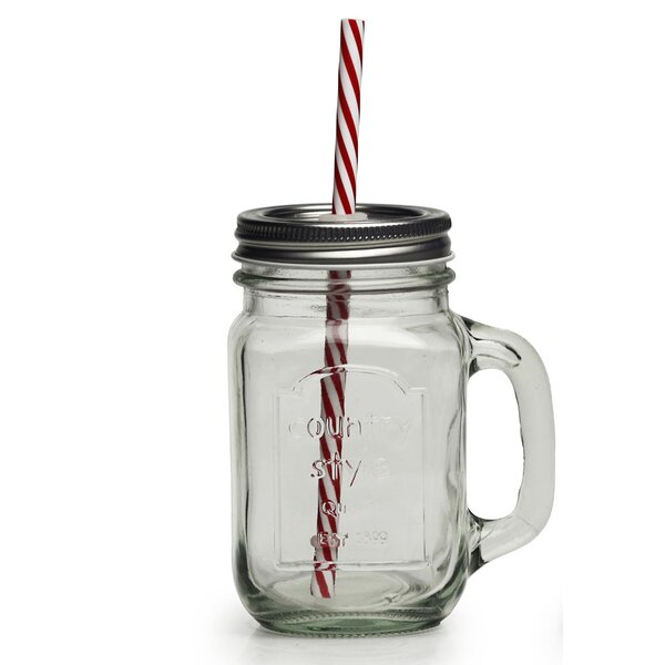 Country 15 Oz. Mug (Set of 4) by Circle Glass