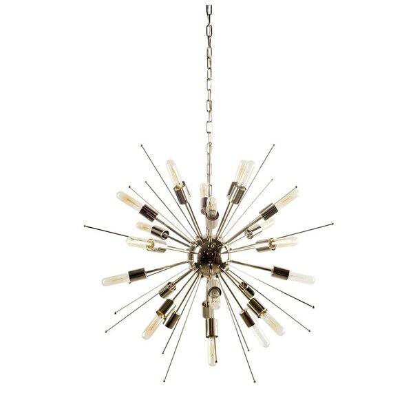 Kristin 24-Light Sputnik Sphere Chandelier By Brayden Studio
