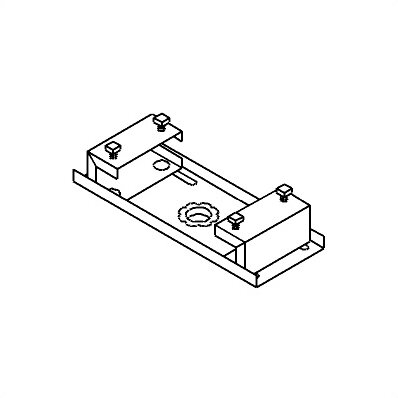 Peerless TV and Projector Ceiling Mounts and Parts I-Beam Clamp by Peerless-AV