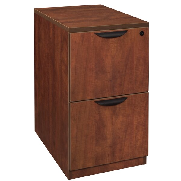 Linh Desk Side 2-Drawer Vertical Filing Cabinet by Latitude Run