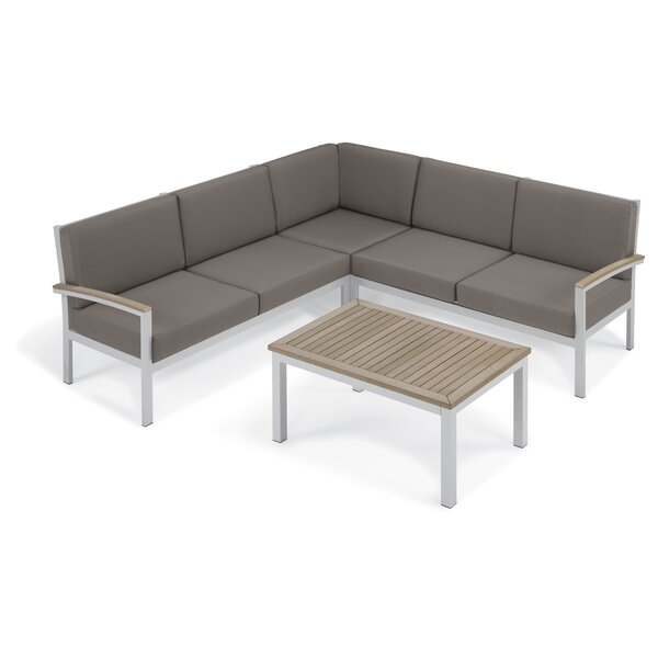 Caspian 7 Piece Sectional Set with Cushions by Sol 72 Outdoor